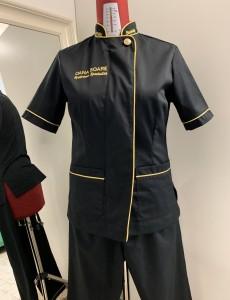 Croitorie uniforme personalizate - Uniforma Salon Infrumusetare Oana Soare